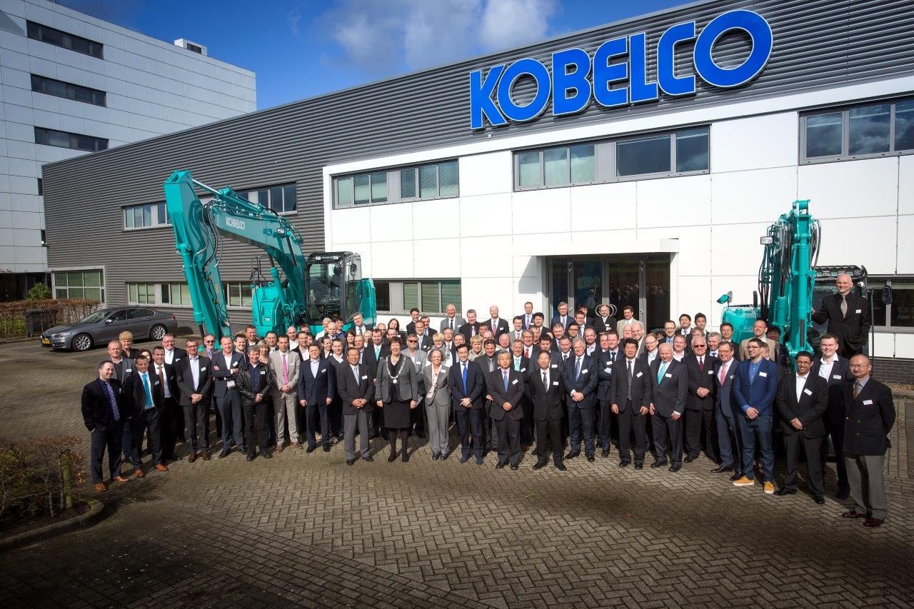 Kobelco opening ceremony of European headquarters